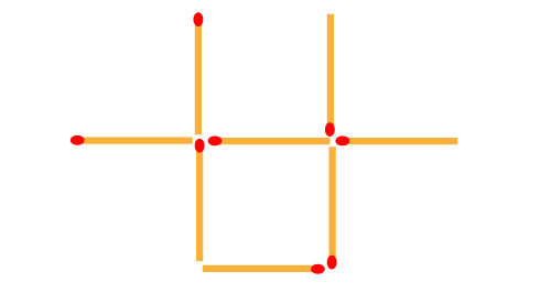 how-to-move-2-matches-to-get-2-squares
